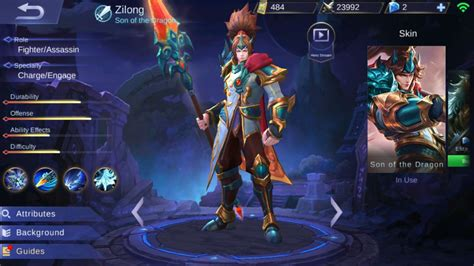 wallpaper mobile legend zilong build zilong mobile legends counter magic jangan takut