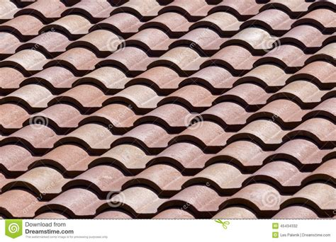 pattern roof tiles ceramic roof tiles pattern background stock photo