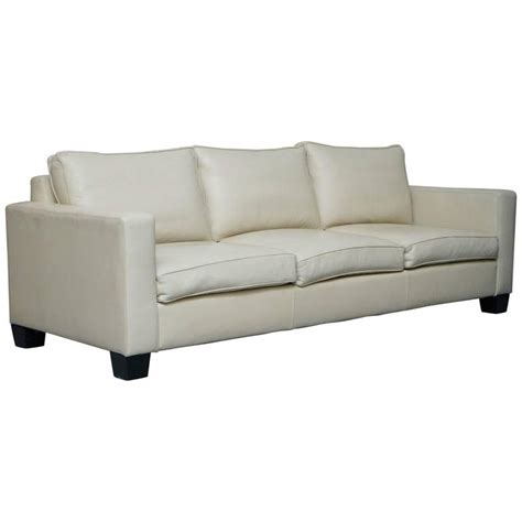 ralph lauren leather sofa sale ralph lauren graham cream leather sofa fully restored