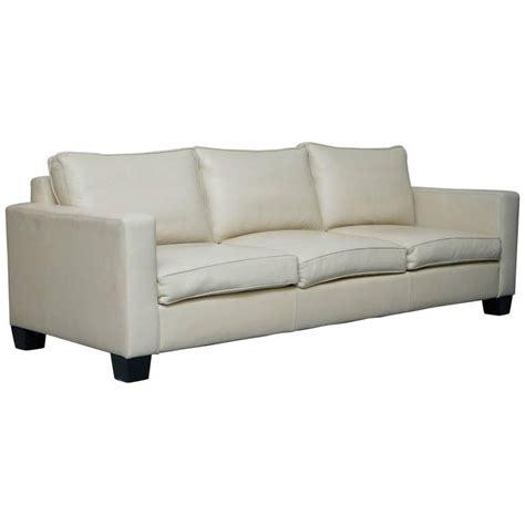 cushions for cream leather sofa ralph lauren graham cream leather sofa fully restored