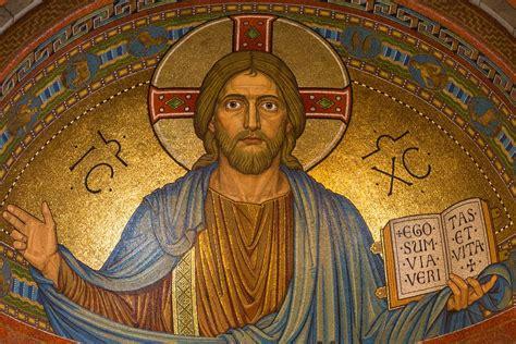 image of christ free photo christ jesus religion mosaic free image