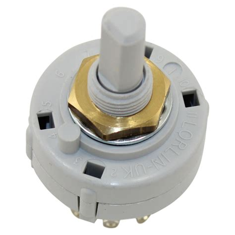 Rotary Switch by Hi Rel Adjustable Rotary Switch 1 Pole 2 12 Position