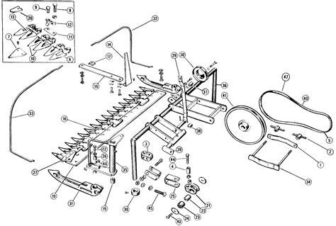 new 56 hay rake parts diagram ford 501 sickle mower parts diagram ford auto wiring diagram