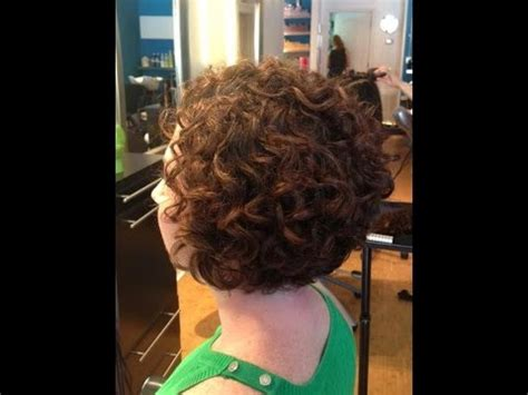 ront and back hairstyle makeovers hair makeover long to bob haircut on curly hair youtube