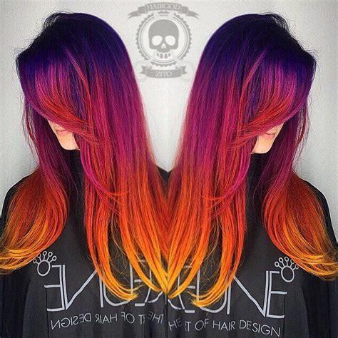 sunset colored hair best 25 hair ideas on hair