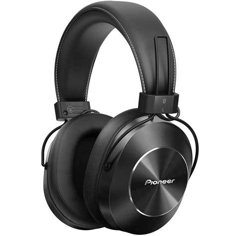 Headset Pioneer pioneer se ms7bt bluetooth headphones black sems7btk b h photo