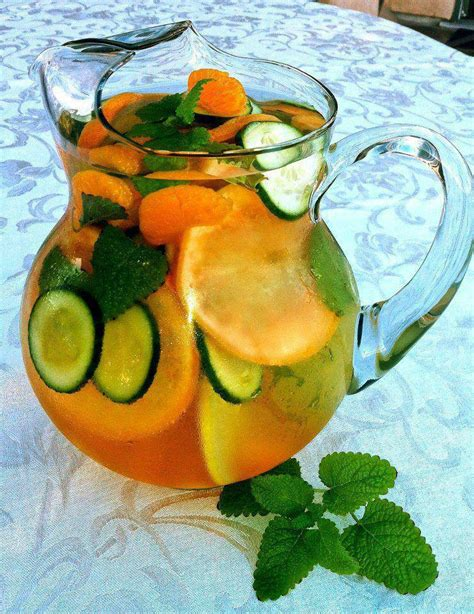Flush And Detox Water Cucumber by Flush Water Tidbits From Coach
