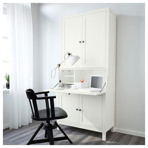 laptop schrank ikea hemnes bureau with add on unit white stain 89x198 cm ikea