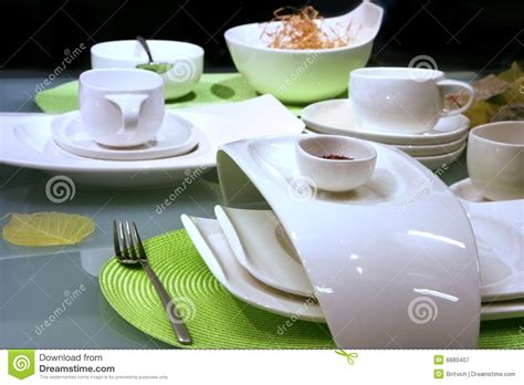 modern table settings modern table settings royalty free stock photography