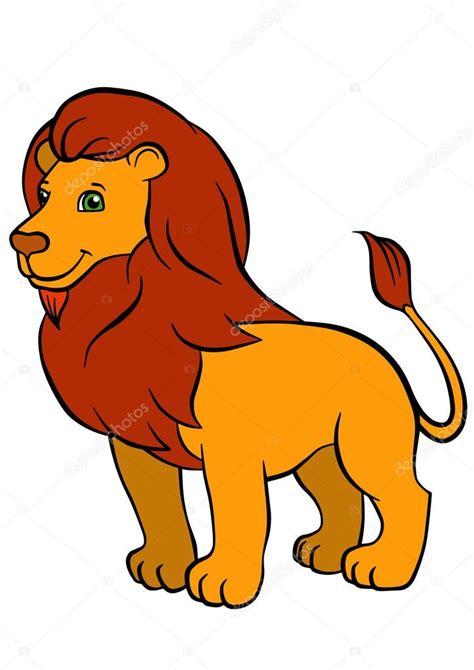 imagenes de leones bebes animados dibujos animados animales salvajes para ni 241 os soportes de
