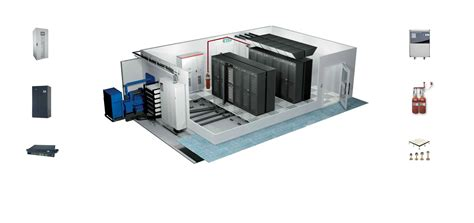 Icon Floor Plan by Efficient Server Room Design Data Center Construction