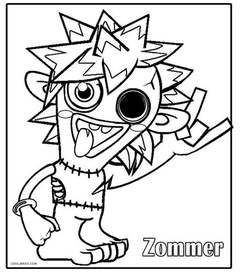 moshi monsters coloring pages printable printable moshi monsters coloring pages for kids cool2bkids