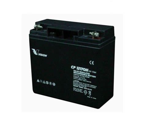 Baterai Ups 12v 17ah vision vrla cp12170 12v 17ah industrial battery