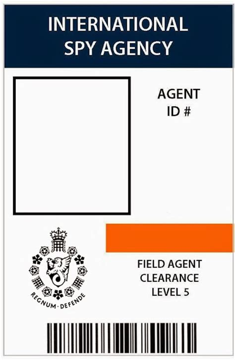 detective id card template i do on a dime 007 patry 7th birthday