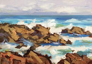 coastal seascape plein air by tom brown google groups
