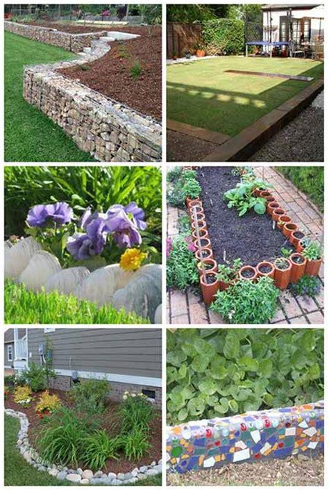 best garden edging ideas 10 brilliant garden edging ideas you can do at home
