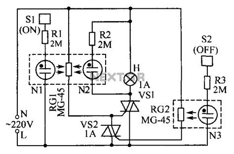 touch switch floor l electrical wiring l touch switch circuit diagram