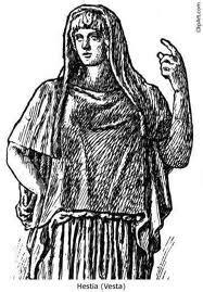 Hestia and Hades. - Greek Mythology