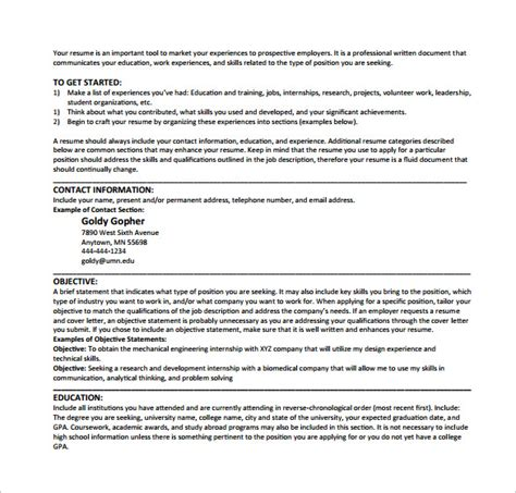 Cover Letter Umn Sle Computer Science Resume 11 Free Documents In Pdf Word
