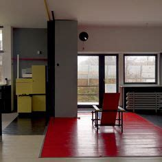 schroder house interior gerrit rietveld on pinterest de stijl danish chair and sewing box