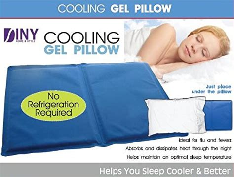 Pillows That Stay Cool While You Sleep by Cooling Gel Pillow Helps You Sleep Cooler Better