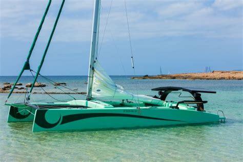 eco catamaran ibiza eco boat charter la bella verde introduces an all new