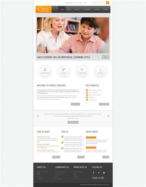 drupal themes education free education drupal template 48236