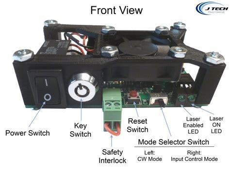 laser diode driver high current 2 5 adjustable safety compliant laser diode driver kit for ir diodes us style