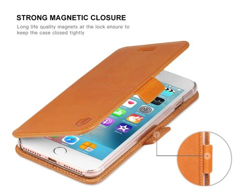 Casing Cover Iphone 7 Plus Flip Wallet Leather Dompet Kartu shieldon iphone 7 plus flip genuine leather