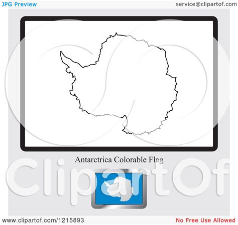 free coloring pages of antarctica flag