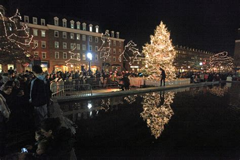 old town alexandria holiday tree lighting dc metro plus