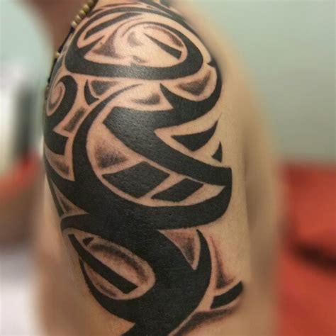 Tattoo Tribal Hombro | tattoo tatuaje tribal hombro madrid espa 241 a daniel
