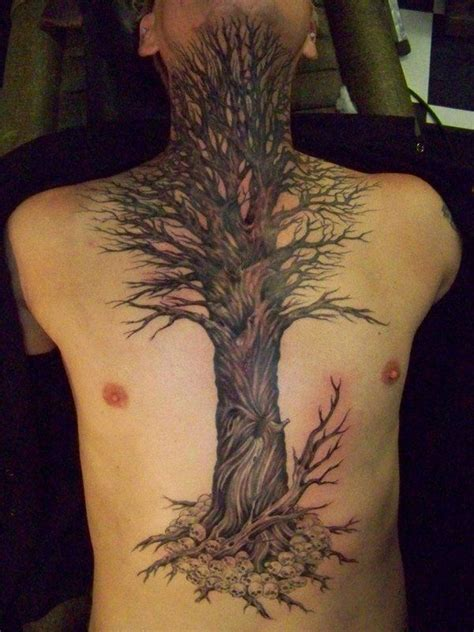 dead tree tattoo 60 tree tattoos that can paint your roots