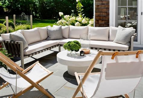 outdoor sectional with table outdoor sectional with folding chairs and white pedestal