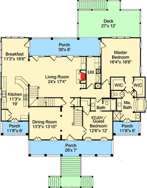 low country floor plans low country charisma 60074rc architectural designs house plans