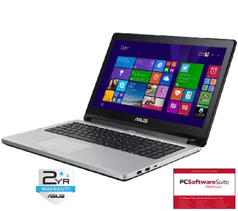 Laptop Asus I5 Ram 6gb asus 15 quot flip 2 in 1 laptop intel i5 6gb ram 500gb hdd page 1 qvc