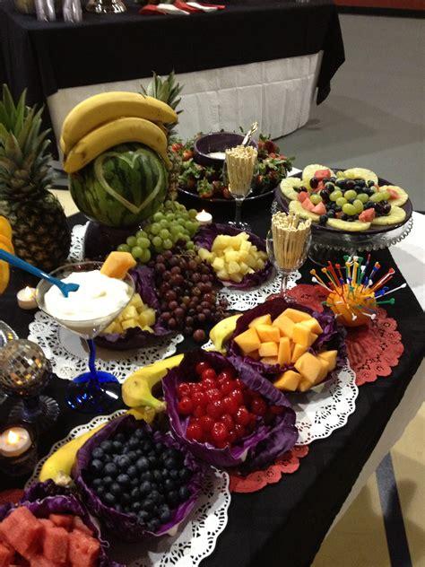 fruit table display fruit display every