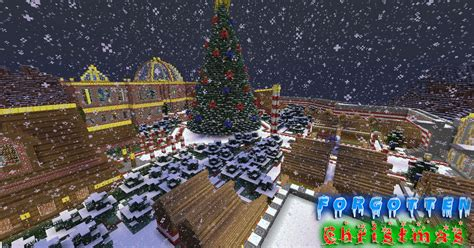 minecraft christmas tree map updated 1 7 2 luclinmcwb s forgotten adv ctm puz park maps mapping