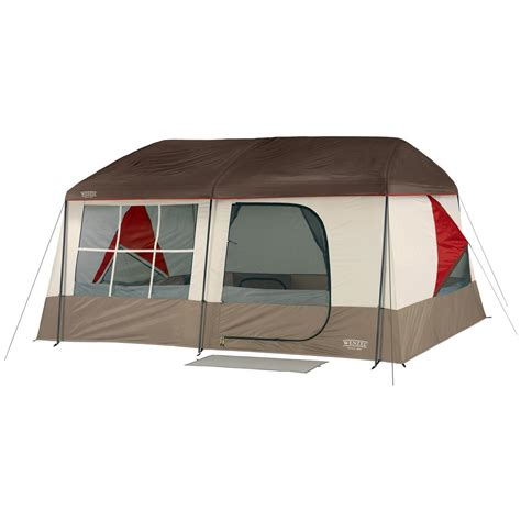 cabin tents wenzel 174 kodiak 9 person tent 201484 cabin tents at sportsman s guide