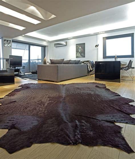 tappeti in pelle di mucca tappeti in pelle di mucca e di pecora caratteristiche e