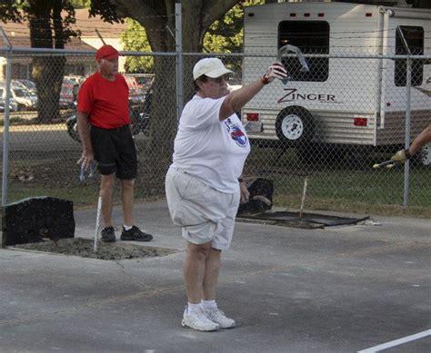 Elkhart County Courts Records Elkhart County 4 H Fair Elite Horseshoe Pitchers Enjoy Friendliness Of Sport Local