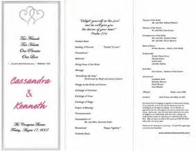 template for wedding ceremony program wedding ceremony program template best business template