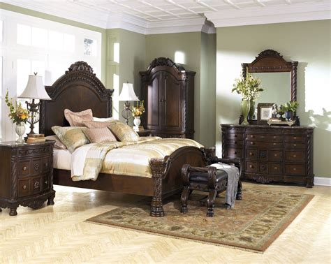 north shore bedroom furniture north shore panel bedroom set from ashley b553 coleman