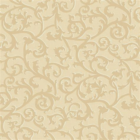 Wallpaper Sticker Motif Elegan Brown Square Ukuran 45 Cm X 10 M gold and gold scroll with texture wallpaper