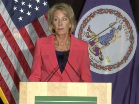 betsy devos business betsy devos announced review college sexual assault rules