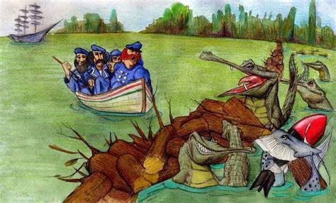 preguntas de comprension la guerra de los yacares no dibujo nada yacares y cocodrilos