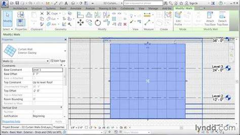 revit tutorial grid configuring the grid layout
