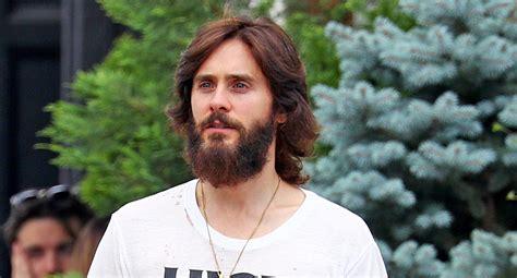 jerad letto jared leto shows his beard in nyc jared leto