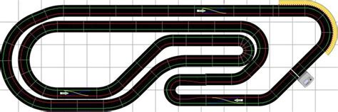 ultimate racer layout scalextric track layouts scalextric slot car layouts