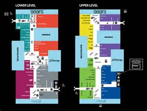 mall map of southridge mall 174 a simon mall greendale wi